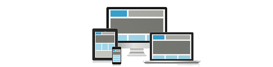 responsive website design banner